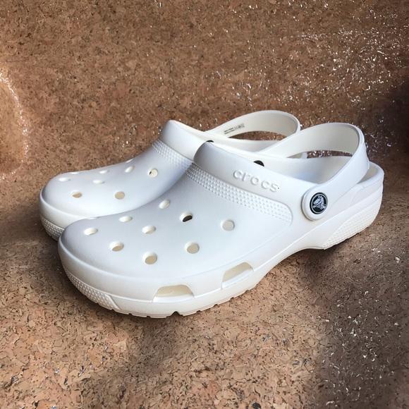 CROCS Shoes | New Classic White | Poshmark